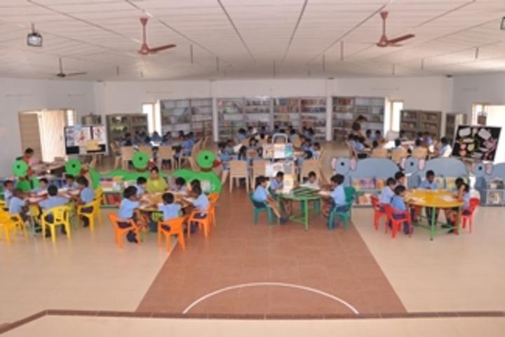 Ushodaya English Medium School-Library