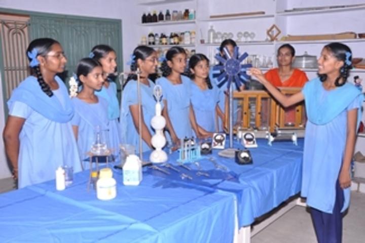 Ushodaya English Medium School-Physics lab