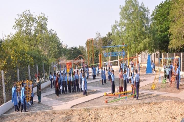 Ushodaya English Medium School-Playground
