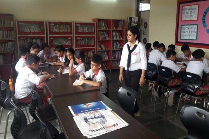 Queen Global International School-Library