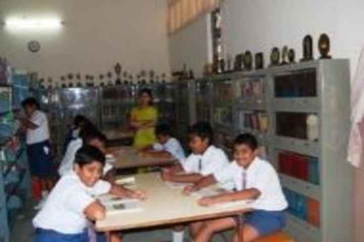 V P Siddhartha Public School-Library