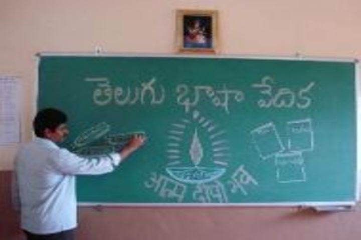V P Siddhartha Public School-Telugu Activity