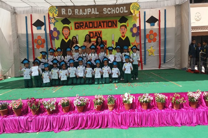 R D Rajpal Public School-Graduation Day