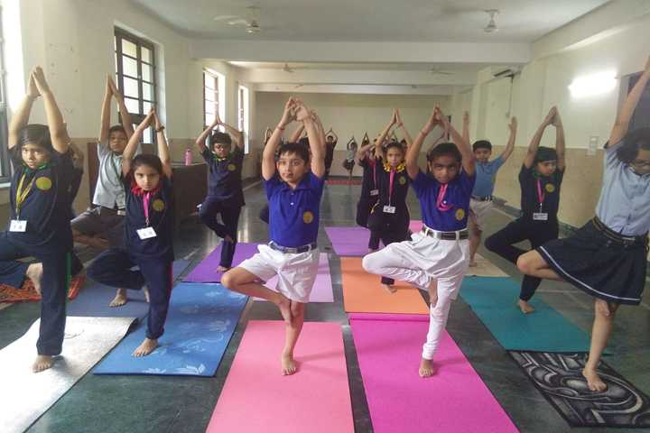 R D Rajpal Public School-Yoga