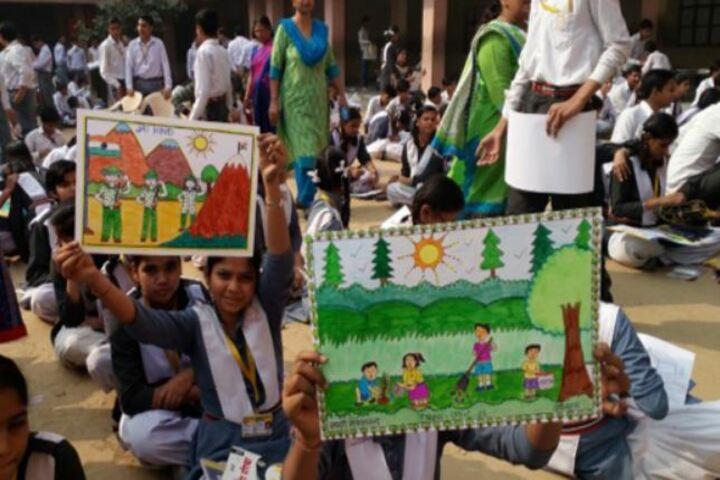 R R Geeta Bal Bharti Public School-Drawing