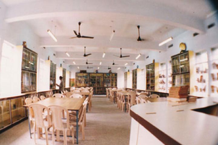 V S St Johns Higher Secondary School-Library