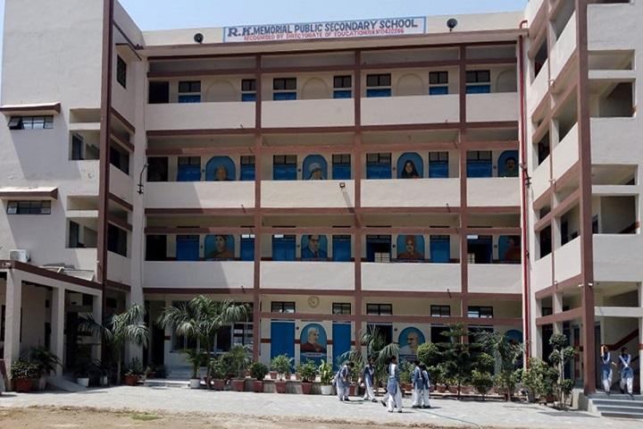 R K Memorial Public School-Campus View