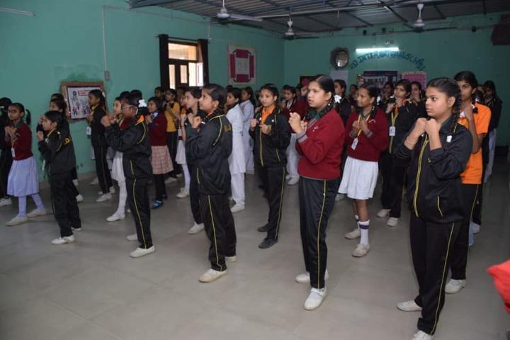R D International School-Karate Class