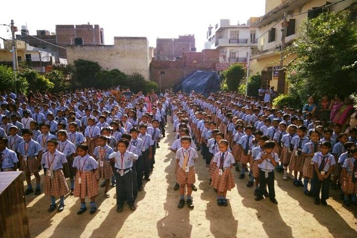 R D International School-Assembly