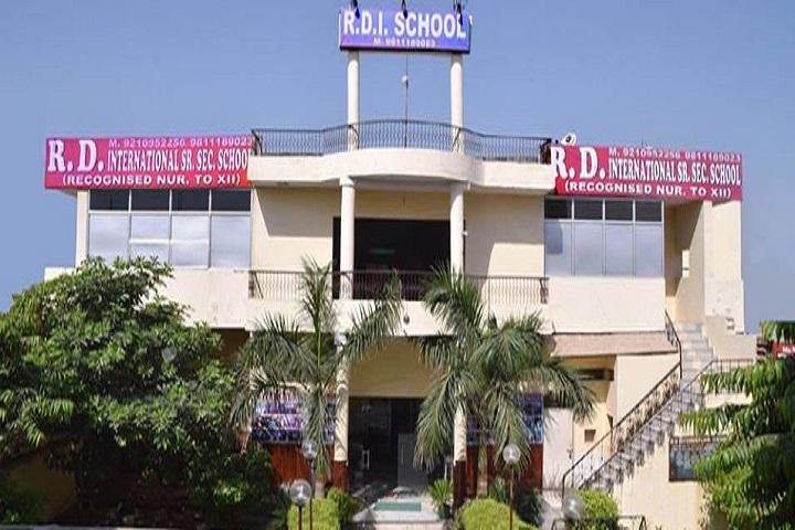 R D International School-Campus View
