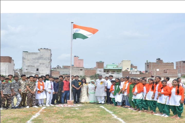 R P Memial Public School-Independence day