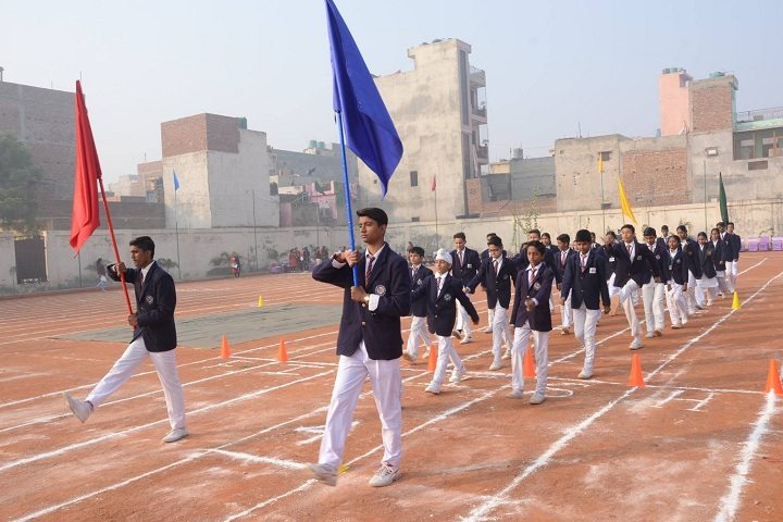 R P Memial Public School-Sports day