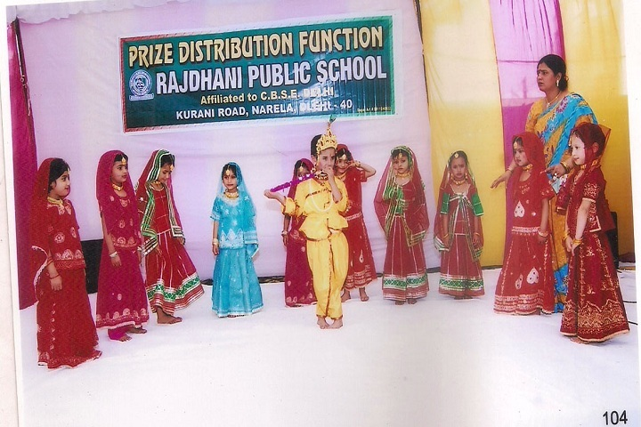 Rajdhani Public School-Festival Celebration
