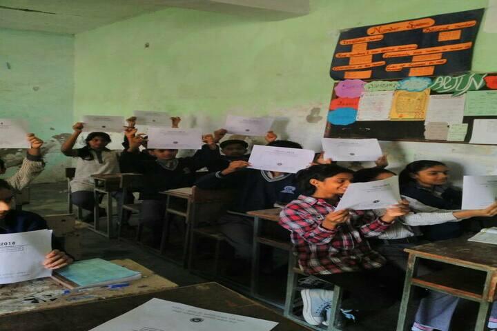 Rajkiya Pratibha Vikas Vidyalaya-Classroom