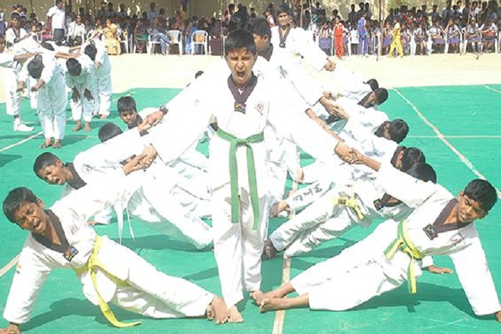 Vidyanjali Co Education English Medium High School-Karate