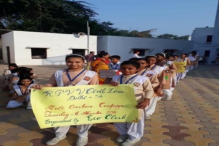 Rajkiya Pratibha Vikas Vidyalaya-Crackers Campaign