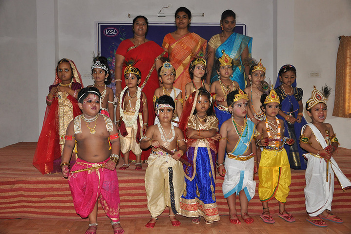 Vidyanjali School-Krishna Jayanthi Celebrations