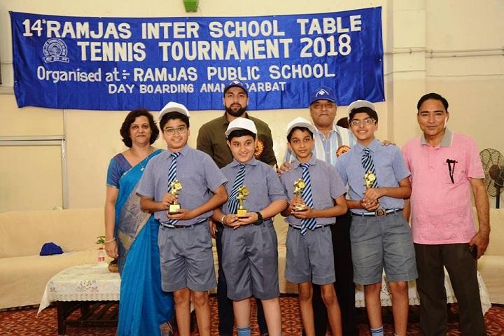 Ramjas Public School-Sports day
