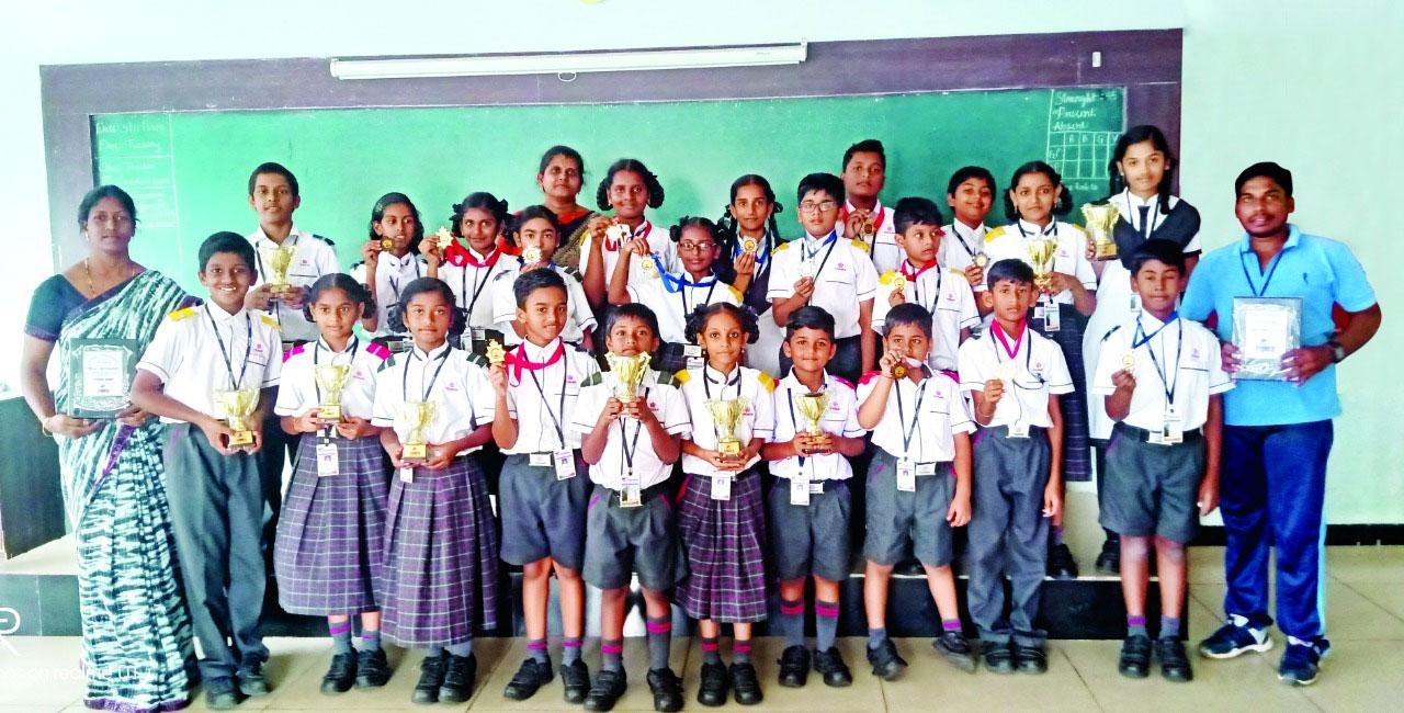 Vignan Steel City Public School-Abacus Competition