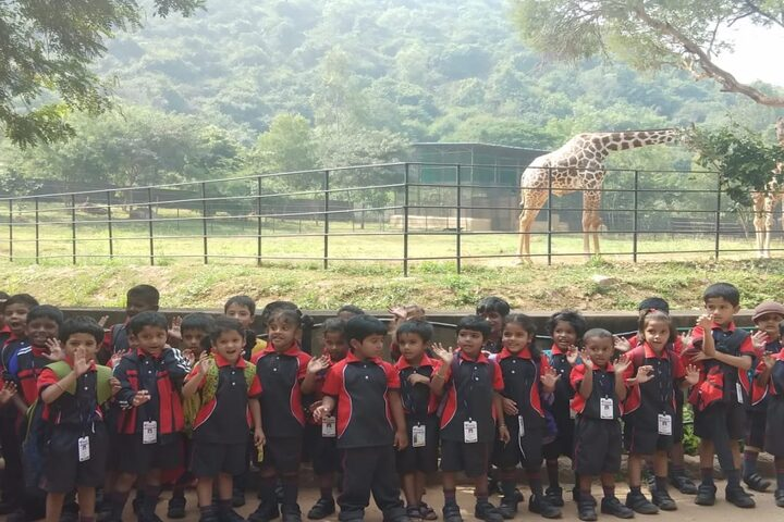 Vignan Steel City Public School-Filed Trip