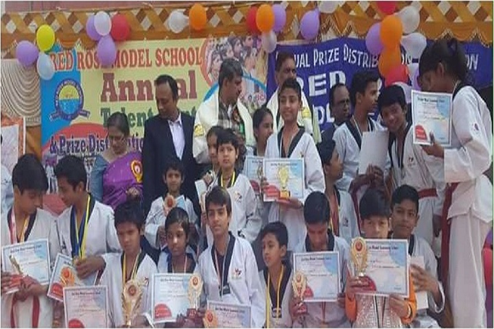 Red Rose Model School-Annual day