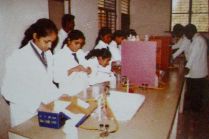 Rishabh Public School- Chemistry Lab