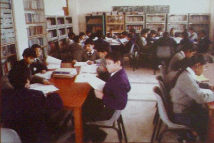 Rishabh Public School- Library