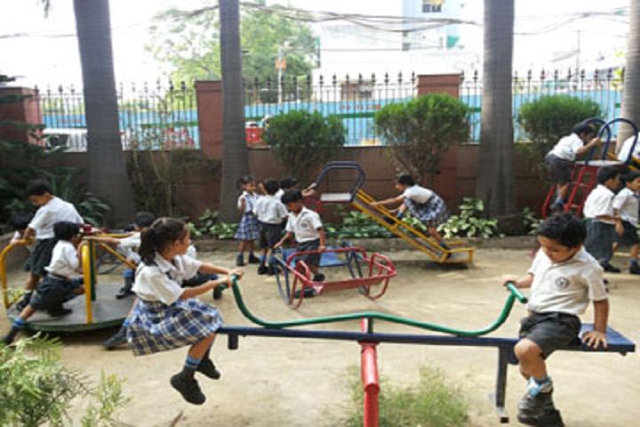 Rishabh Public School- Playground