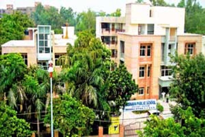 Rishabh Public School- School campus