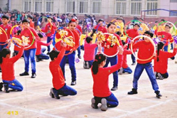 Rishabh Public School- Sports