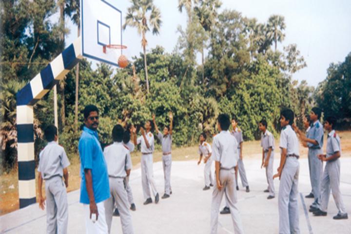Vijnana Vihara Residential School-Basket Ball