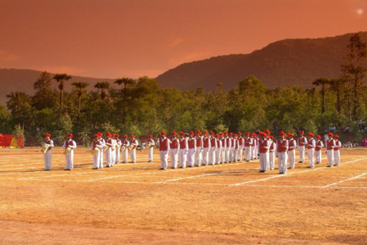 Vijnana Vihara Residential School-Sports Day