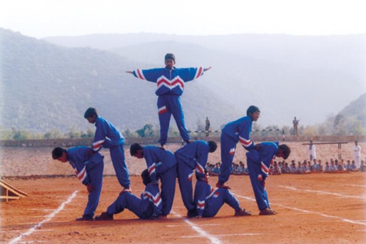 Vijnana Vihara Residential School-Yoga Day