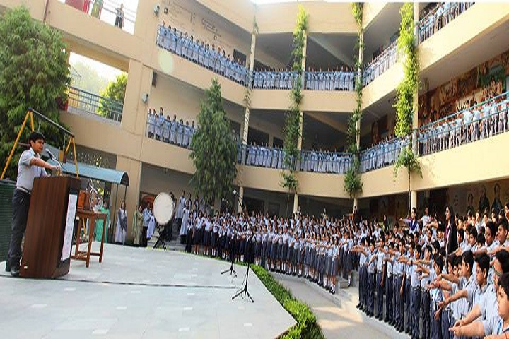 Rukmani Devi Public School-Morning Assembly