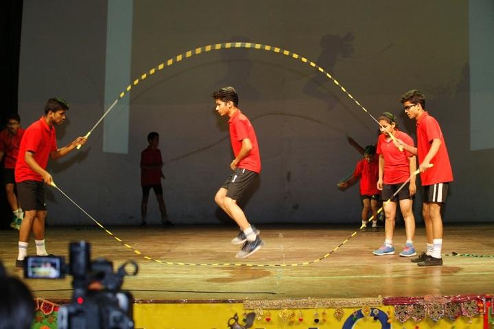 SSLT Gujarat Senior Secondary School-Skipping Rope