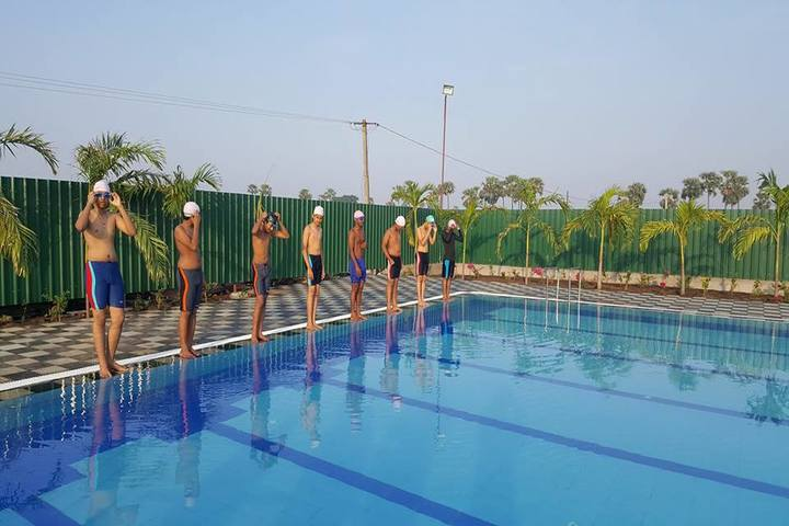 Viswabharathi Wisewoods High School-Swimming Pool