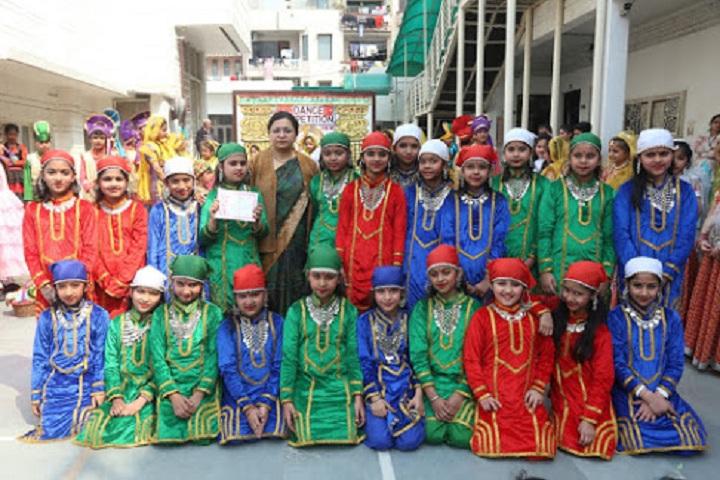 Sachdeva Public School-Students