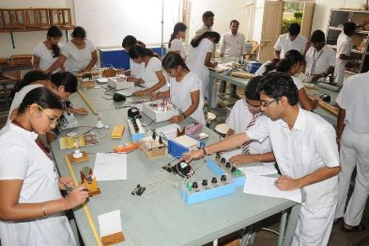 Viswasanti English Medium High School-Electronic Lab