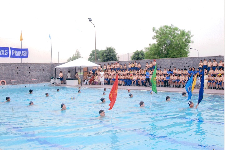 Sanskriti School-Swimming Pool