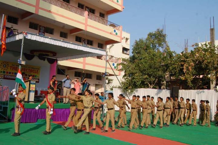 Vivekananda Residential School-Marchpast