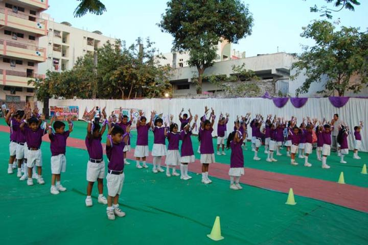 Vivekananda Residential School- Sports Day