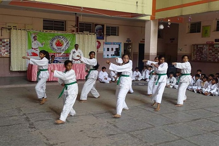 Vivekananda Residential School-Karate Activity