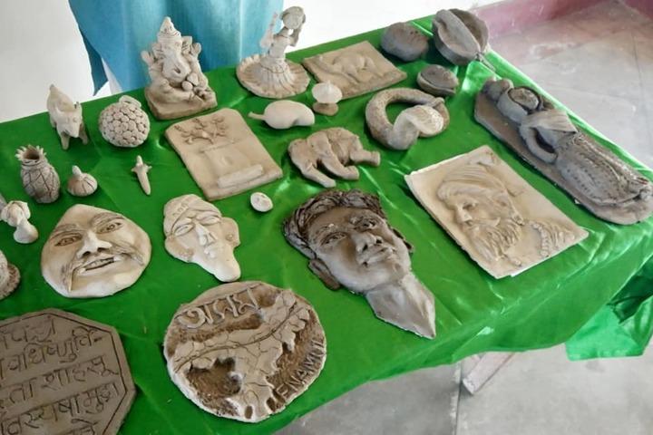 Arunachal Pali Vidyapith-Clay Art