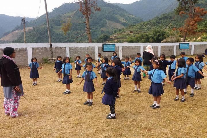 Boum Kakir Mission School-Assembly
