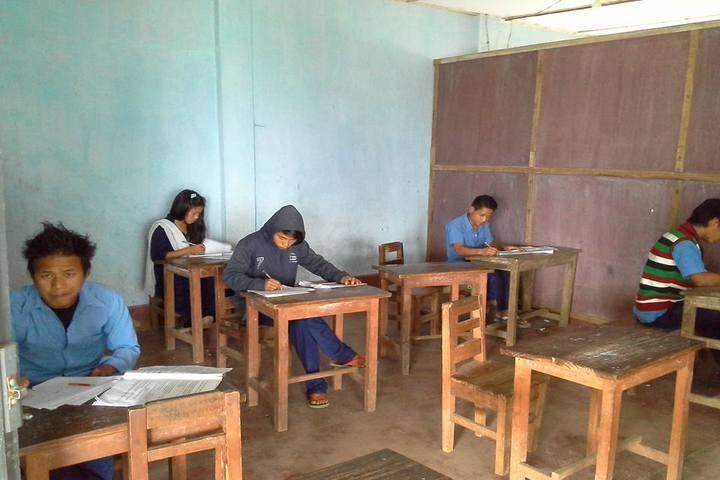 Boum Kakir Mission School-Classroom