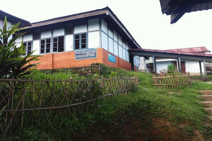 Boum Kakir Mission School-Garden