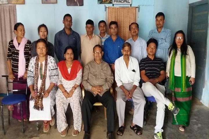 Boum Kakir Mission School-Staff Group Photo