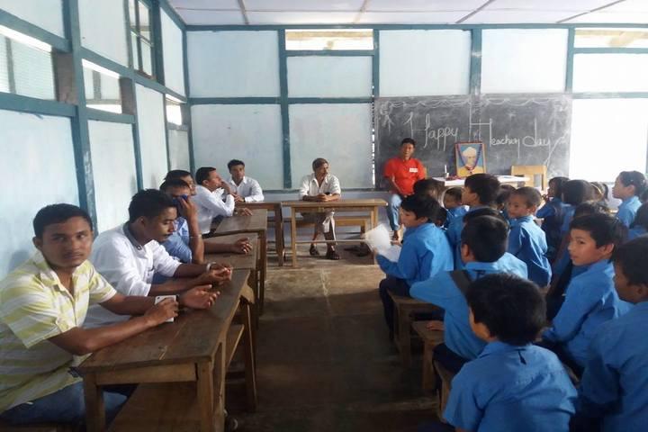 Boum Kakir Mission School-Teachers Day