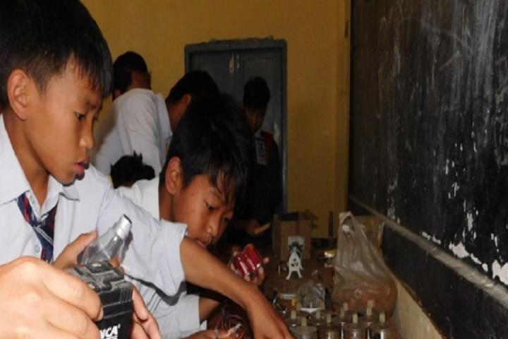 Don Bosco School-Light Experiment