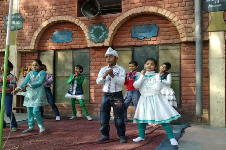 Shri Vishwakarma Model School-Dance